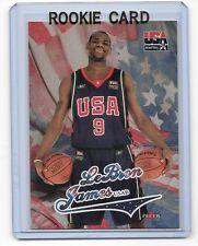 Lebron James 2004 Fleer USA Rookie Card #usa8  qty