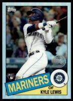 2020 Topps Chrome 1985 #85TC-22 Kyle Lewis RC - Seattle Mariners