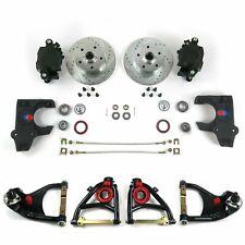 "55-57 Chevrolet 2"" Drop Brake Conversion Kit with Tubular Control Arms"