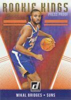 2018-19 Donruss Rookie Kings Press Proof #15 Mikal Bridges Phoenix Suns