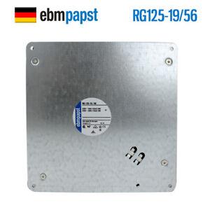 Ebmpapst fan RG125-19 56 230V 50Hz 20W Kone elevator MX10 host fan