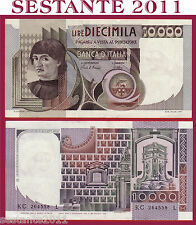 ITALIA ITALY 10.000 10000 LIRE BUSTO D'UOMO CASTAGNO 1982 P 106b QFDS / AUNC *