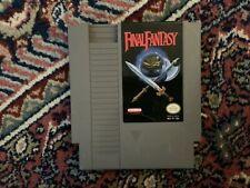 Nintendo Nes Game, Final Fantasy