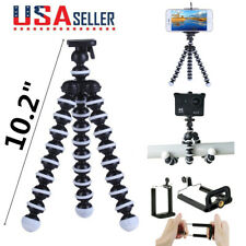 """10.2"""" Flexible Tripod Octopus Compact Stand Mount Holder for iPhone DSLR Camera"""