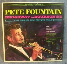 Pete Fountain Broadway To Bourbon St. Vinyl LP Record Album