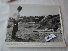 1969 THE SICILIAN CLAN Alain Delon Lino Ventura Movie Press Photo 8 x 10 B