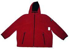 C&A Herren Jacke/Übergangsjacke/Outdoorjacke mit Kapuze Rotbraun Größe 6XL