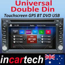 6.2'' Double 2 Din Universal Car DVD Player Stereo GPS sat nav Navigation System