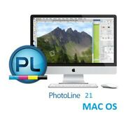 PhotoLine 21 for MAC OS image and graphics editor color management