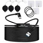 16ft/5M Link Cable for Oculus Quest 2 Type-C Right Angle to USB A Charging Cord