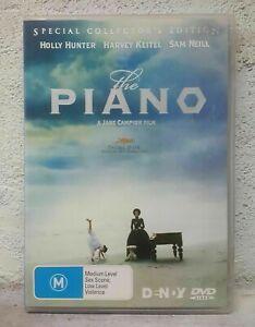 The Piano (DVD, 1993) Holly Hunter, Harvey Keitel, Sam Neill - NEW ZEALAND MOVIE