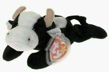 1 TY Beanie Baby DAISY Black White COWRetired '93 '94 PVC Pellets RARE (1 Pack)