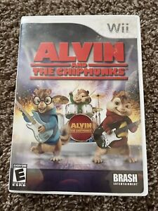 Alvin and the Chipmunks (Nintendo Wii, 2007) Complete, Tested And Working