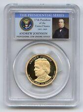 2011S  $1 PCGS PR70DCAM  ANDREW JOHNSON  THE BEST U CAN GET
