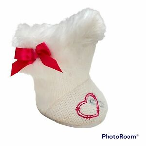 Build-A-Bear Mittens Fluff & Stuff Lalaloopsy Replacement White Boot ONLY ONE
