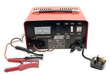 Maypole 8A 12V Battery Charger 20ah to 90ah Metal Case Car Van Lead Acid Battery