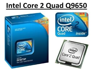 Intel Core 2 Quad Q9650 SLB8W Quad Core Processor 3.0GHz, Socket LGA775, 95W CPU