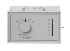 White-Rodgers 1F56N-444 Universal Tstat Heat/Cool Mechanical Thermostat