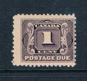 "Canada - 1906 - 1¢ ""Postage Due"" -- SC J1 [SG D1] MNH P1"
