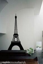 Torre EIFFEL FRANCIA PARIGI Cool Funky Moderno Lucido Adesivo Muro Decalcomania Arte WAL