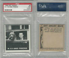 1966 Topps, Get Smart, #8 K-13 And Friend, PSA 7 OC NM