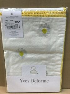 YVES DELORME   UnPeu Jaune COLLECTION PERCALE 100% EGYPTIAN COTTON 200TC