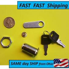 Cylinder Lock with 2 keys - Locksmith Supply - FAST SHIP