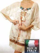 Kimono Sleeve Solid Tops & Blouses for Women