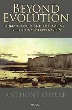 Beyond Evolution: Human Nature and the Limits of Evolutionary Explanation, O'Hea