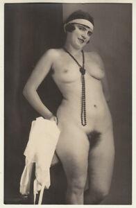 Original vintage 1920s sAustrian nude, rare!