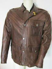 Parajumpers LINCOLN Lederjacke Herren Distressed Leather in L / NP 790 €
