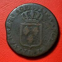 #1578 Louis XVI Sol 1791 D lyon TB - FACTURE