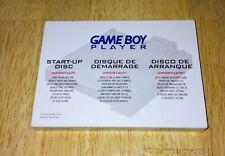 NO DISC Original Nintendo GameCube GameBoy Player Cardboard Sleeve Case & Manual