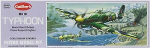 "Guillows 906  Hawker MK 1B Typhoon 18""  Model Kit Made in USA"