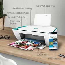 HP Printer All In One Wireless Home Office Color Inkjet Print Scan Copy WITH INK