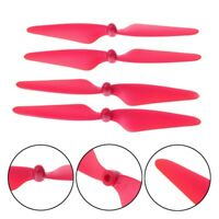 4pcs Red Main Blades Propellers Spare Parts for MJX B3 Bugs RC Quadcopter Drone