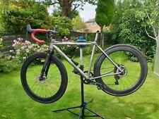 Lynskey Pro Cross Cyclocross Titanium Carbon bike frame set ,fork+bb size S