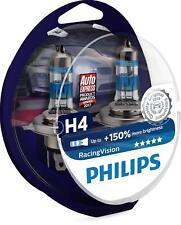 Philips RacingVision +150% H4 headlight bulb 12342RVB2 (pack of 2)