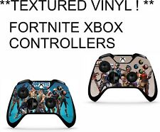 FORTNITE 2X CONTROLLER XBOX ONE *TEXTURED VINYL ! **PROTECTIVE SKINS DECAL WRAP