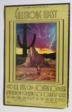 B.B King Joe Cocker 1969 BG 182 ORIGINAL Fillmore West Poster David Singer