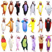 2017 Mens Ladies homewear Adult Animal  Kigurumi Pyjamas Pajamas robe nightwear