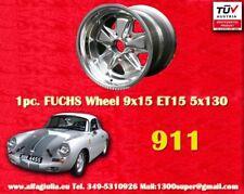 1 Cerchio Fuchs style 9x15 ET15 Porsche 911 polished TÜV 1pc. wheel 1 Stk Felge