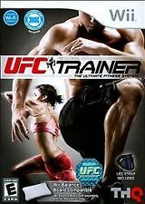 UFC Personal Trainer: The Ultimate Fitness System (Nintendo Wii, 2011) Complete