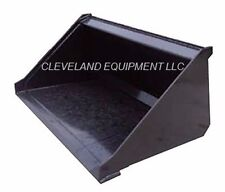 "NEW 48"" MINI LOW PROFILE BUCKET for Bobcat Skid Steer Track Loader Attachment 4'"