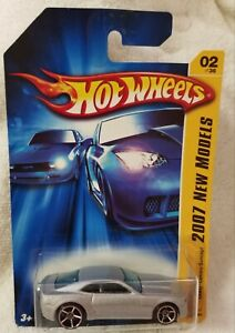 Hot Wheels 2007 New Models 1/64 Diecast 2007 Chevy Camaro Concept Silver  NEW