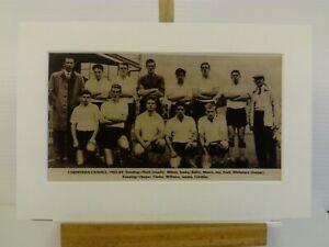 Amateur football team print CORINTHIAN-CASUALS F.C.