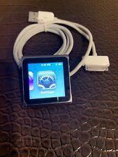 Apple iPod Nano 6th Generation Gray Graphite 8GB A1366