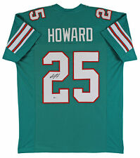 Xavien Howard Authentic Signed Teal Pro Style Jersey Autographed BAS Witnessed