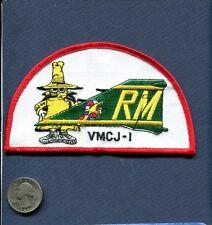VMCJ-1 USMC Marine Corps McDonnell RF-4 F-4 PHANTOM Spook Squadron Tail Patch