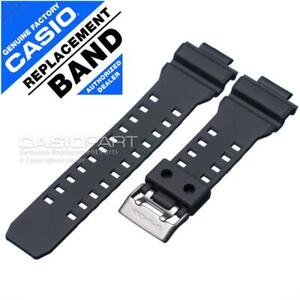 Genuine Casio Watch Band for G-Shock GD-350 GD-350-8 GD350 Grey Rubber Strap